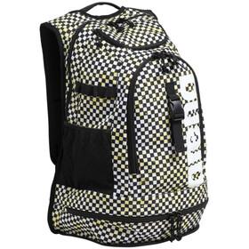 arena Fastpack 2.2 Allover Backpack, zwart/wit
